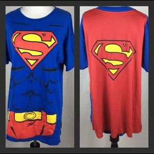 Superman men's t-shirt with ape size M A3